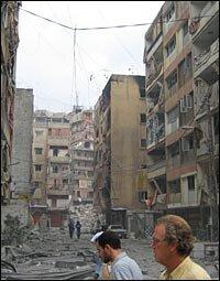 Devastation In Beirut This Is What It >> Scenes Of Devastation In South Beirut Npr
