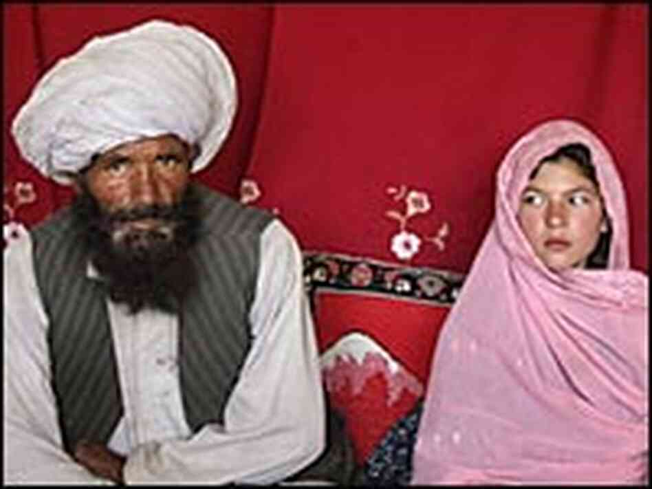 Ghulan Haider, 11, is to be married to Faiz Mohammed, 40.