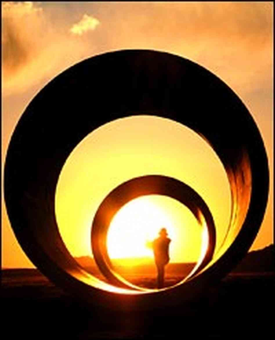 The Sun Tunnels, near the town of Lucin, Utah, were created by artist Nancy Holt 30 years ago.