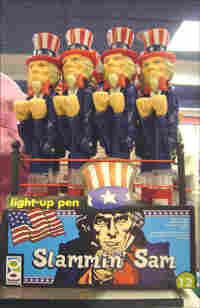 Slammin' Sam light-up pen