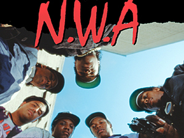 From the cover of Straight Outta Compton.