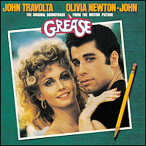 Cover of the 'Grease' soundtrack