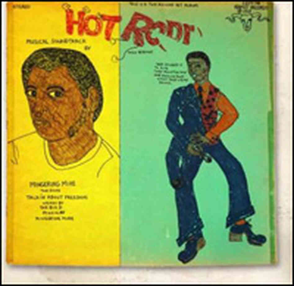 The album cover to the soundtrack for the movie Hot Rodd. Courtesy: Mingering Mike.