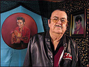 Bill Beeny at his Elvis Is Alive Museum