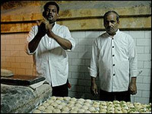 Making Indian Flatbread