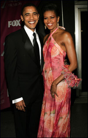 Michelle Obama at NAACP Awards