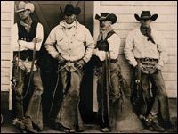Cowboys in Tintype