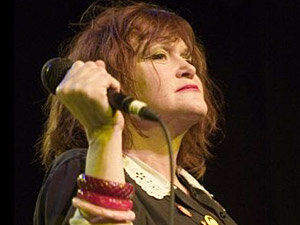 Exene Cervenka got her start fronting the punk band X. Thirty-one years later, she still does.