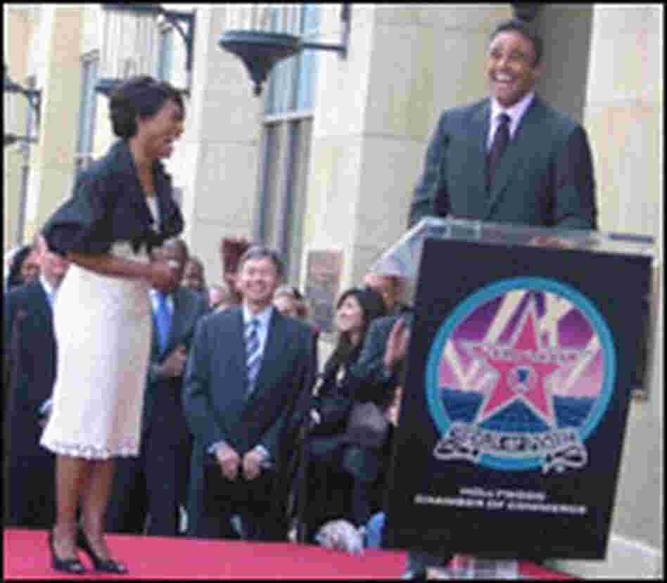 Angela Bassett gets a star on the Walk of Fame.