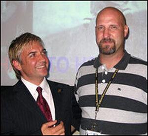 Matthew Boger (left) and Tim Zaal.