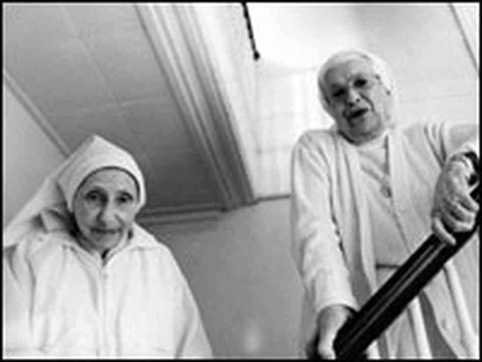 Sister Mary Emmanuel and Sister Mary Catherine Perko