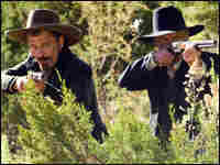 Ed Harris and Viggo Mortensen shoot 'em up in 'Appaloosa.'