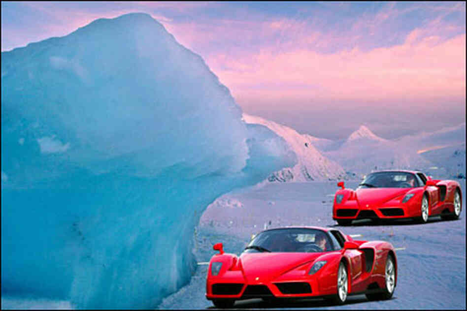 Ferraris In Alaska