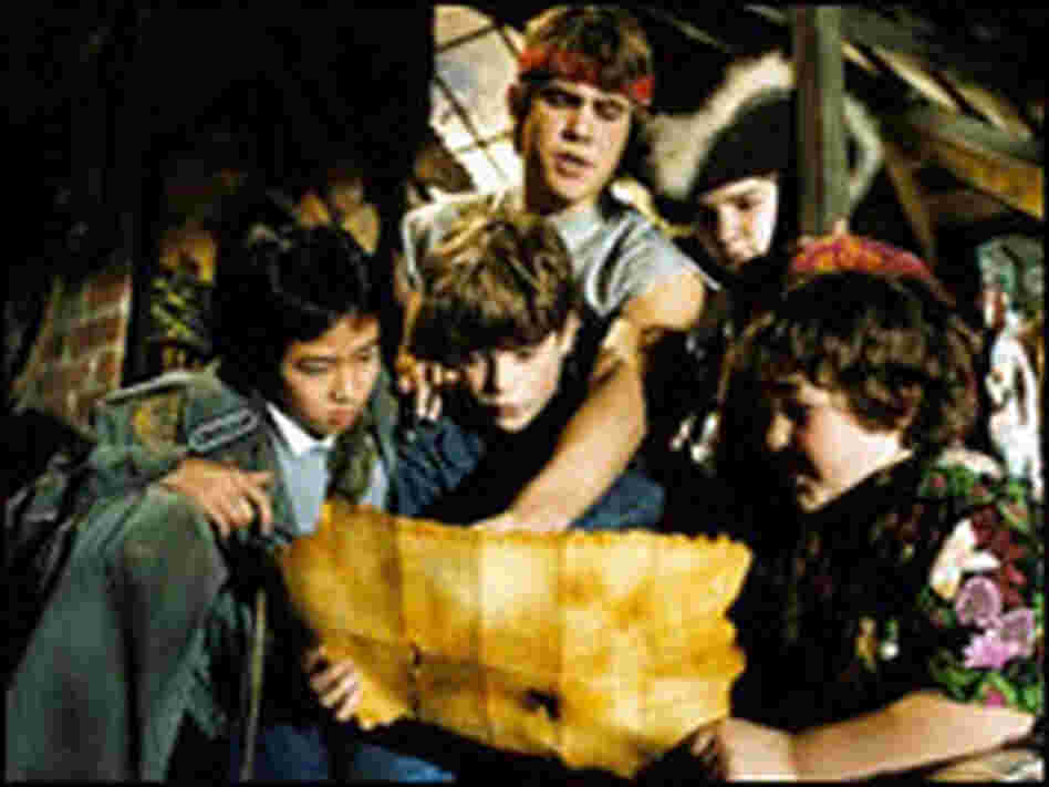 The Goonies Map