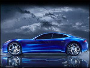 The Fisker Concept Car