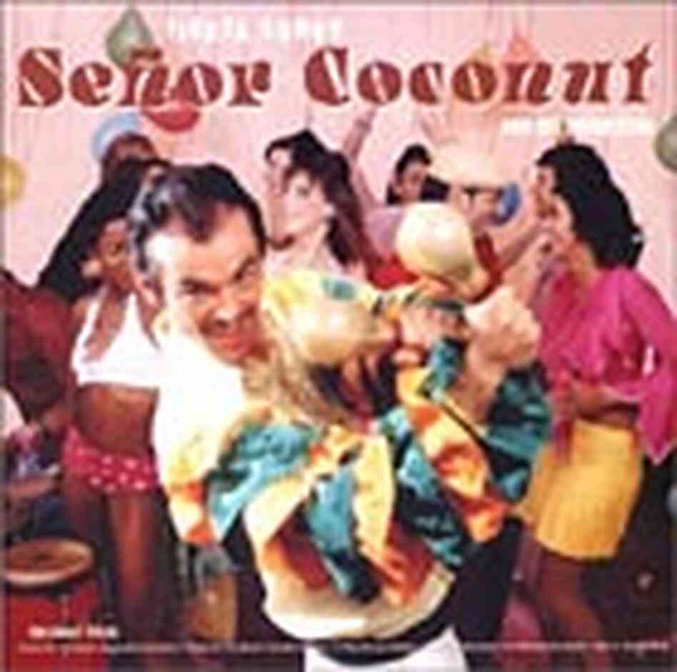 Cover for Señor Coconut's 'Fiesta Songs'