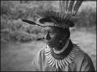 Cofan Shaman Conejo, Rio Sucumbíos, April 1942