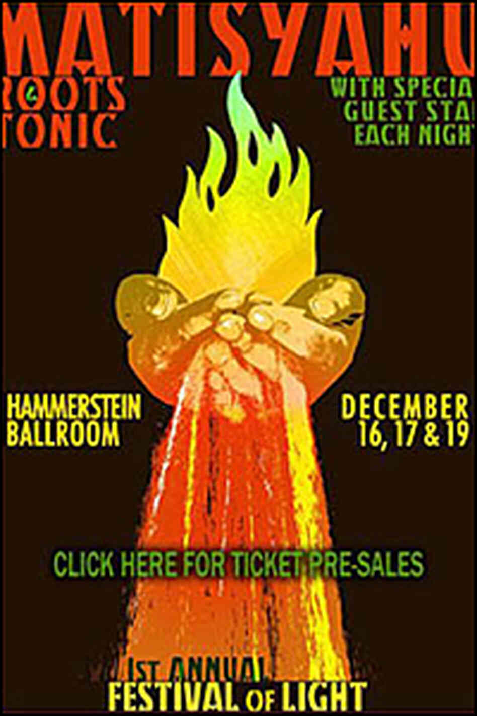 Festival of Light Poster