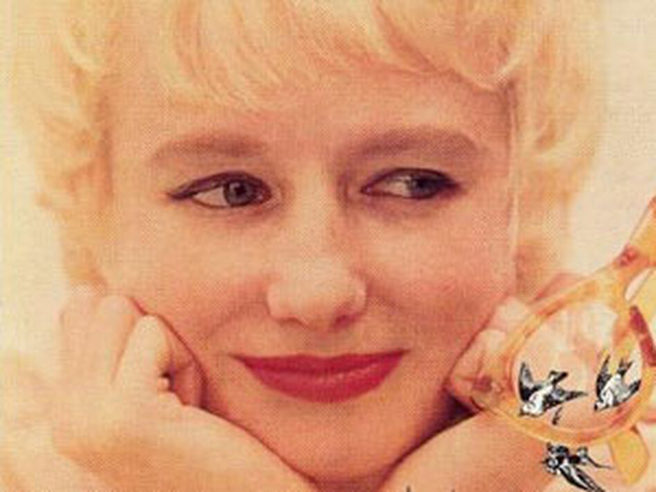 Blossom Dearie, from the cover of her album <em>Once Upon a Summertime</em>.
