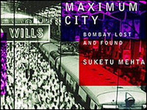 Detail from the cover of Maximum City: Bombay Lost and Found