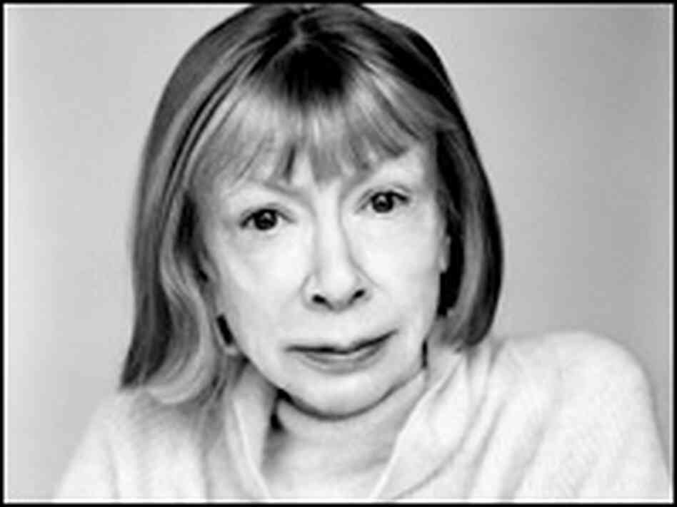 Joan Didion and her husband were married for nearly 40 years.