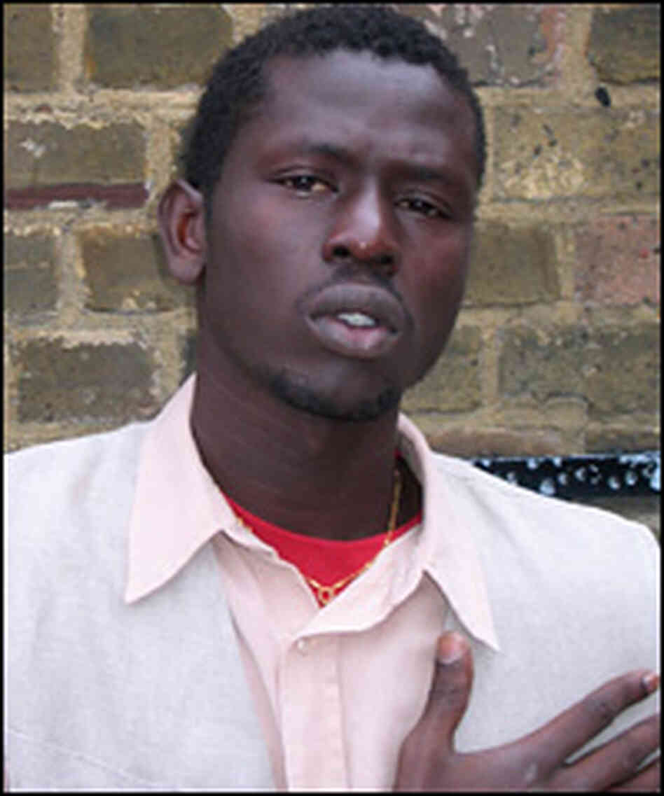 Emmanuel Jal lived in Kenya and Great Britain after escaping the wars in Sudan.