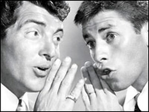 Dean Martin and Jerry Lewis, from the cover of 'Dean and Me: A Love Story'