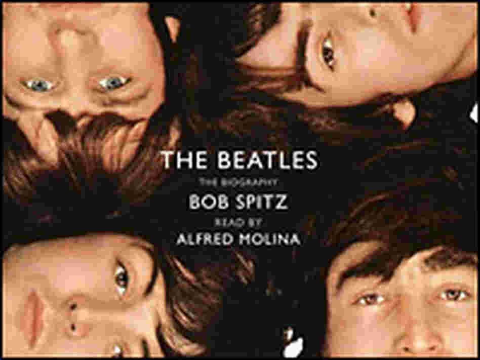 Detail from the cover of 'The Beatles: The Biography'.