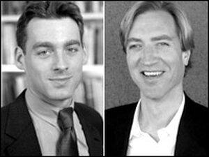 Jacob Hacker, left, and Paul Pierson.