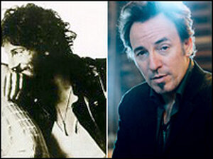 The Boss, then and now: Bruce Springsteen on the cover of 1975's 'Born to Run'