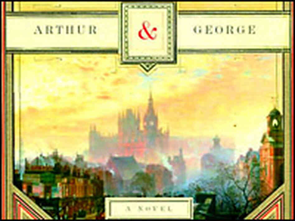 Detail from the cover of 'Arthur and George'