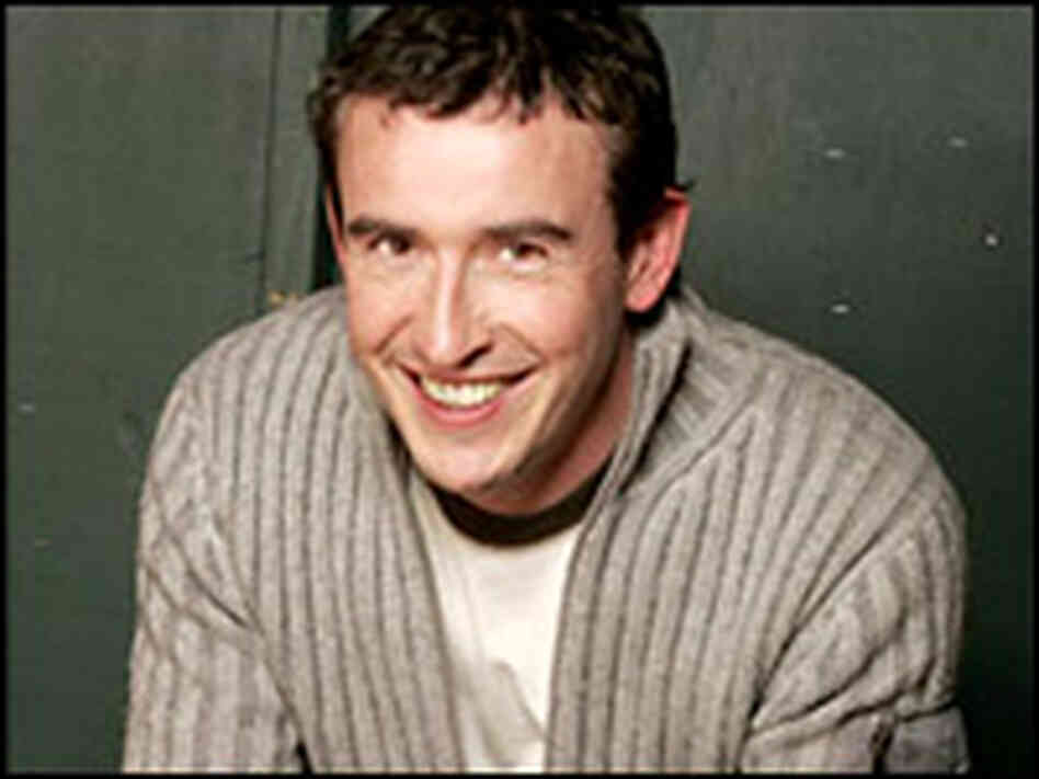The actor and comedian Steve Coogan.