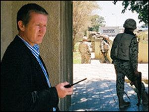 Mark Etherington in Wasit Province.