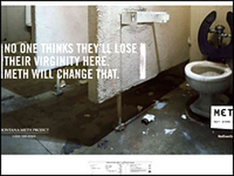 Anti Meth Posters Anti Meth ad