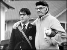 Seymour Cassel, right, with Jason Schwartzman in 'Rushmore'