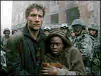 Clive Owen and Clare-Hope Ashitey in 'Children of Men'