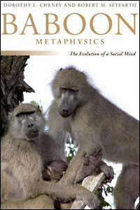Cover of Baboon Metaphysics shows a baboon family