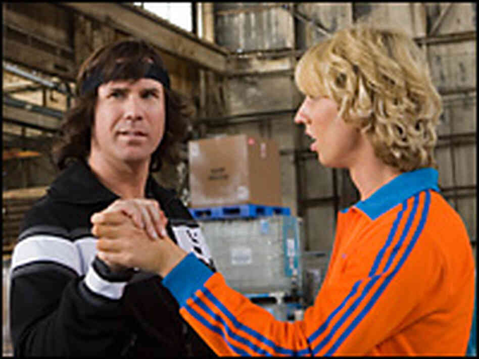 Will Ferrell and Jon Heder in  Blades of Glory   Credit  Melinda Sue    Jon Heder And Will Ferrell
