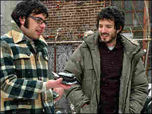 300 Jemaine Clement (left) and Bret McKenzie
