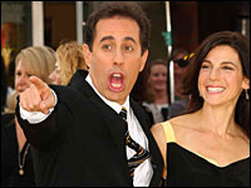 Jerry Seinfeld and his wife Jessica