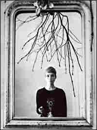 Astrid Kirchherr, shooting a self-portrait in the mirror