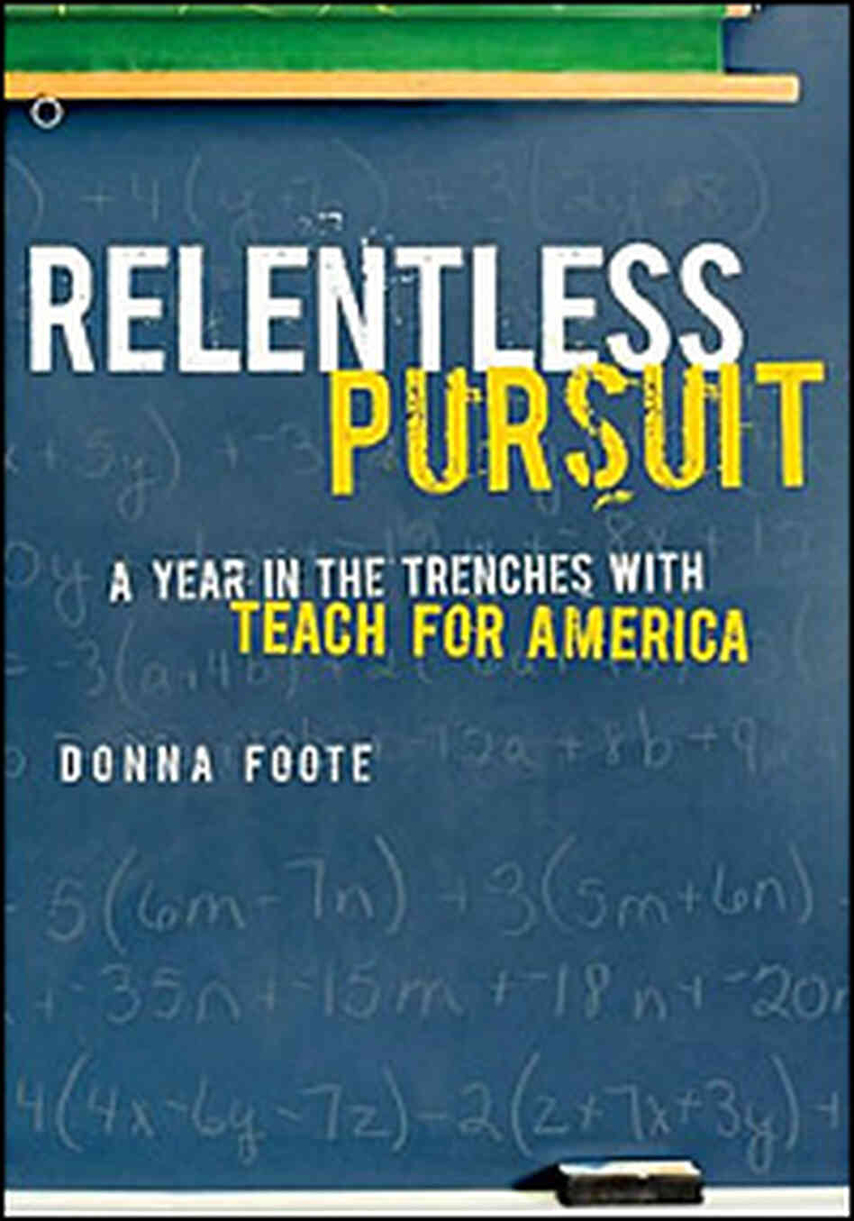 Relentless Pursuit, cover
