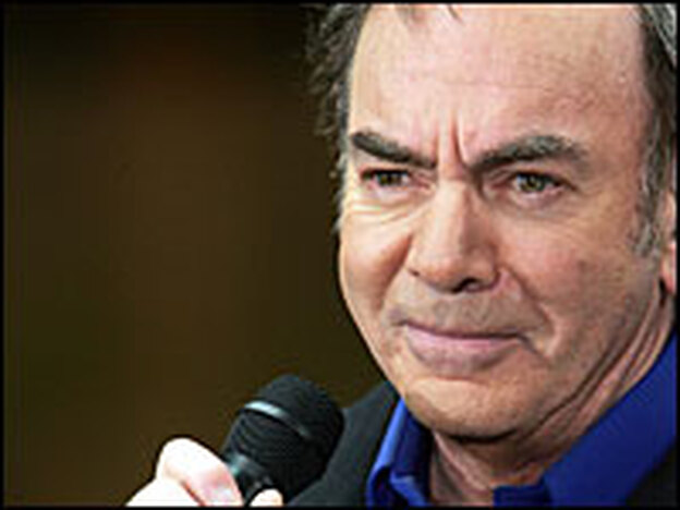 "Some of Neil Diamond's best known tracks include ""Sweet Caroline,"" ""Cherry Cherry"" and ""Cracklin' Rosie."" (Getty Images)"