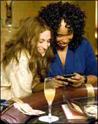 """Sarah Jessica Parker and Jennifer Hudson in """"Sex and the City."""""""