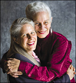 Dr. Jill Bolte Taylor with her mother.