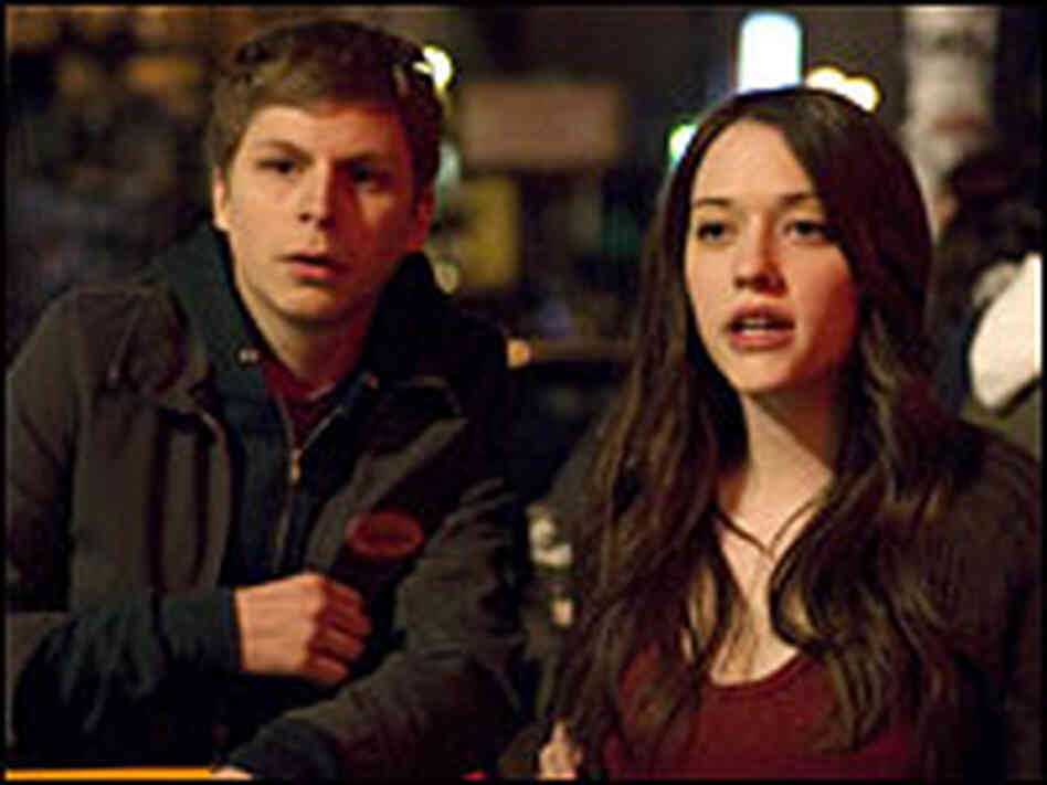 Michael Cera and Kat Dennings