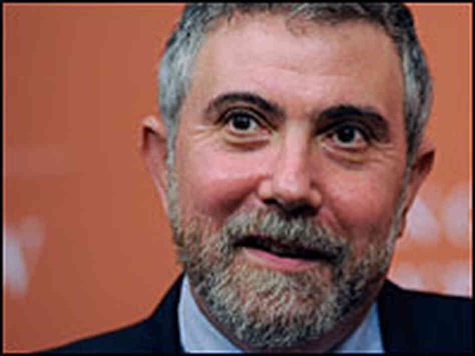 Professor and journalist Paul Krugman