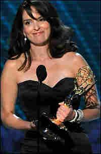 Tina Fey Receives Emmy