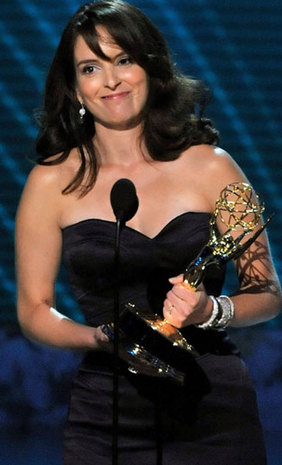 Tina Fey Receives Emmy