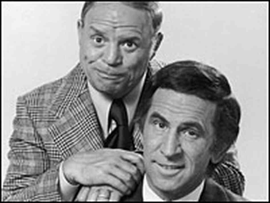Don Rickles and Don Adams in 1973